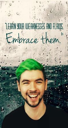 Jacksepticeye will always be the one too tell me follow my heart that's why I love