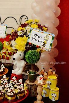 Snoopy party. Fonte: queridadata.com.br