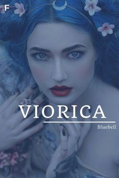 Viorica - Bluebell Cool Baby, Unique Baby, Baby Love, Baby Baby, Baby Name Book, Strong Baby Names, Feminine Names, Traditional Names, Parenting Tips