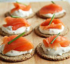 Irish Smoked Salmon Canapes  click for the recipe!