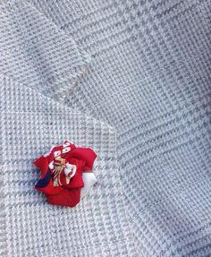Lapel Pins Mens Lapel Pin Flower Lapel Pin Women Pink Red Silk Lapel Flower Kanzashi Brooch Wedding Boutonniere Groomsman Gift For Women Lapel Flower, Kanzashi Flowers, Fabric Squares, Boutonnieres, Red Silk, Flower Shape, Groomsman Gifts, Lapel Pins, Gifts For Women