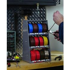 How To Make A Wire Rack Wire Storage Wire Reel Shop
