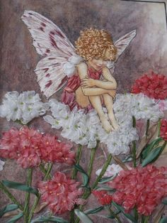 I ❤ ribbonwork . . . The Candytuft Fairy, 2009- Embroidered by Mimi Chan