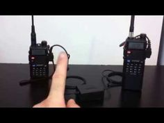 Set up a Baofeng UV-5R repeater - YouTube