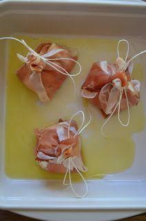 Food and More - Rezeptra: Mozzarella-Schinken-Päckchen