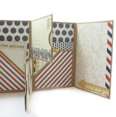 Authentique Paper: Explore & Petaloo One Sheet Mini Album