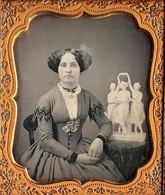 19th century hair | Quite the hair . . . . | Mid 19th century photographs, drawings & pai ...