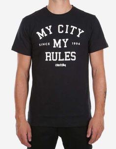 iriedaily - My City Tee black