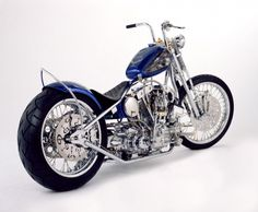 Blue Bayou - Indian Larry Motorcycles. No Bullshit. Real choppers. No cookie cutter fuckery!