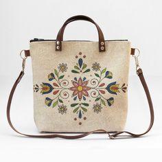 Ľudová kabelka s farebným kosoštvorcom z kvetov Burlap, Reusable Tote Bags, Hessian Fabric, Jute, Canvas
