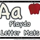 FREEBIE ABC Playdo MatsPrint, slip in sheet protectors (or laminate) - you are ready to go! Perfect beginning of the year kinder center.....Nee...