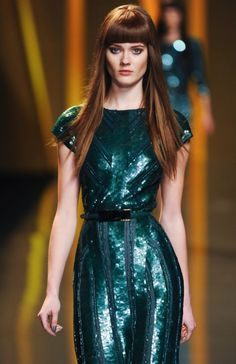 OMG I am speechless.  Jac Jagaciak at Elie Saab FW 12
