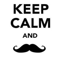 Do You Keep Calm and Mustache On? Mustache Home Decor