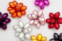 Giant Flowerpower Rings by LInda Toye