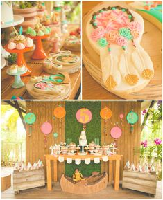 American Girl Doll Pow Wow Party via Kara's Party Ideas | KarasPartyIdeas.com (1)