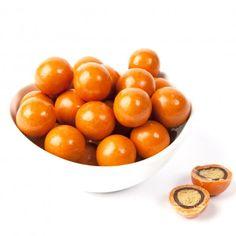 Pumpkin Spice Malted Milk Balls Orange Candy, Malted Milk, Halloween Candy, Holiday Treats, Pumpkin Spice, Spices, Balls, Fruit, Pumpkins
