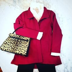 Don't you just love this color for fall? A pretty cranberry jacket that's perfect for Thanksgiving! #tfssi #stsimons #seaisland #shopgoldenisles #fall2015 #thanksgiving
