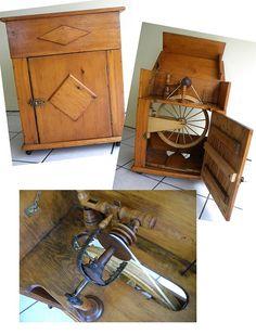 Wheel-In-A_Box paper mache wheel I restored.