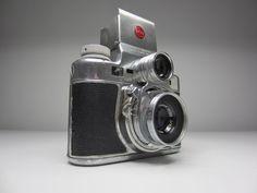 Bolsey Camera - Bolsey C Twin Lens Reflex Camera Wollensak Lens #Bolsey