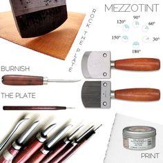 mezzotint tools