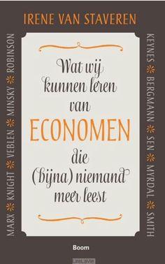 Marx, Veblen, Smith, Senn, zijn voorbeelden van 10 economen die (te) weinig gelezen worden en juist nu inspiratie zouden kunnen geven voor de aanpak van de financieel-economische problemen. Niet alleen maar die neoklassieke vrijemarkttheorie, die lang niet alles verklaart, laat staan voorspelt. Irene van Staveren pleit dan ook voor meer diversiteit in wat we economiestudenten aanbieden, en legt uit dat ethiek ook bij economie hoort, dat economie zeker geen natuurwetenschappelijke discipline…