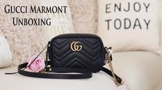 Unboxing   Gucci GG Marmont Mini Camera Bag