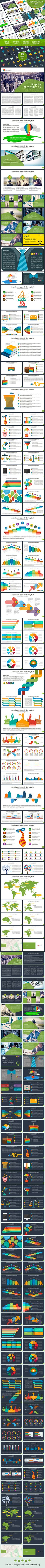 Freedom PowerPoint template #design #slides Download: http://graphicriver.net/item/freedom-powerpoint-template/10916311?ref=ksioks