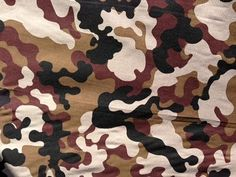 Camouflage Poly Cotton Collection