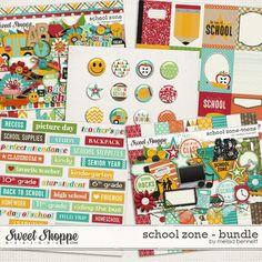 School Zone Bundle by Melissa Bennett