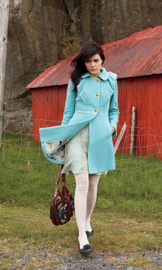Floe & Current coat by Leifsdottir at Anthropologie - Sold Out