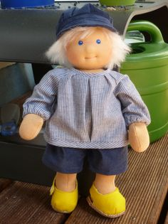 Waldorfpuppen - Puppenkind Björn - ein Designerstück von Haistadtgoeren bei DaWanda