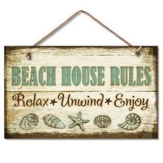 Best coastal wall decor and beach themed wall art for your home. We have some of the absolute best beach style wall decorations including canvas art, wall art, metal art, wooden beach signs, and more. Beach Wall Decor, Beach Cottage Decor, Coastal Decor, Coastal Cottage, Cottage Ideas, Coastal Style, Coastal Living, Beach Signs Wooden, Fishing Shack