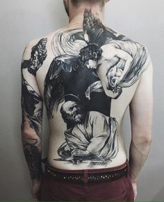 This is the sort of thing i want on my back. Classic art but blackwork