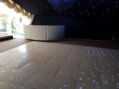 This #Furniture #Friday we love our Chesterfield Bar AND our LED Dance Floor in Harlow for Domino Marquees.  www.alfrescohire.co.uk 01279 870997  #eventhire #wedding #TGIF #barhire #dance #party #weekend