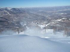 Deer Valley, Utah snowmaking 11/17/14
