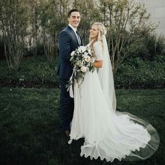 modest wedding dress with elbow sleeves from alta moda bridal. -- (modest bridal gowns) --
