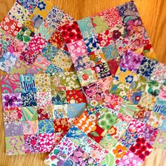 So much fun to make, I can't stop! #libertylawn #libertytanalawn #oneinchsquares #libertygram