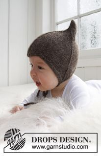 60 ideas crochet free pattern hat kids drops design for 2019 Baby Knitting Patterns, Baby Hats Knitting, Knitting For Kids, Baby Patterns, Free Knitting, Knitted Hats, Crochet Patterns, Crochet Scarf For Beginners, Kids Photo Props