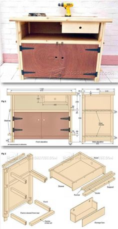 Small Workbench Plans - Workshop Solutions Plans, Tips and Tricks | WoodArchivist.com
