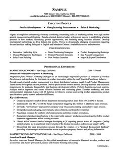 Product Marketing Specialist Sample Resume Use Of Mathematical Models For Estimating The Shelflife Of .