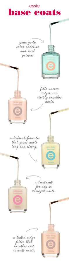 Cover your bases with essie.