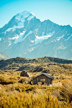 Bunk, Mount Cook, New Zealand,