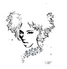 Let Your Hair Down, #illustration #afro