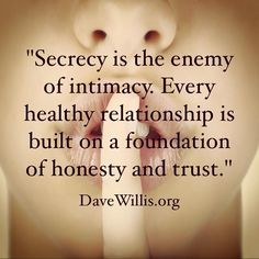 The EX Factor - In a marriage, the level of honesty with each other determines the level of intimacy with each other. Here are 4 ways to test your current strength and evaluate areas for improvement. The Comprehensive Guide To Getting Your EX Back The Words, Healthy Relationships, Relationship Advice, Honesty In Relationships, Relationship Challenge, Healthy Marriage, Emotional Cheating Quotes, Quotes To Live By, Me Quotes