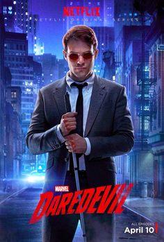 Marvel e Netflix liberam uma cacetada de pôsteres do seriado do Demolidor. #Marvel