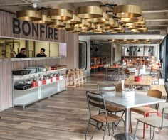 Bonfire (London, UK), Surface Interiors  Catering Design Group