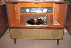 Vintage Home Entertainment Center