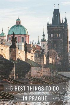 5 Best Things To Do in Prague - How to Visit Like a Local Europe Travel Guide, Travel Destinations, Travel Guides, Travel Plan, Holiday Destinations, Austria, Prague Travel, Rome Travel, Italy Travel