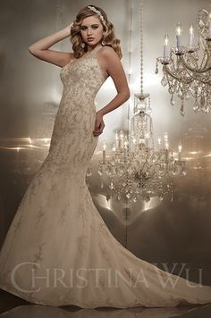 15564 Bridal Gown Wedding Christina Wu Fit And Flare