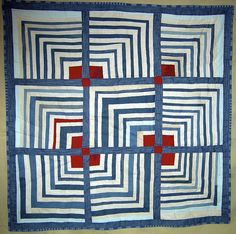 """Illusion"" by Nancy Jackson, inspired by Gee's Bend Quilters"